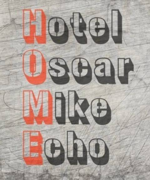 """Hotel Oscar Mike Echo"" Plotterdatei bei Makerist"