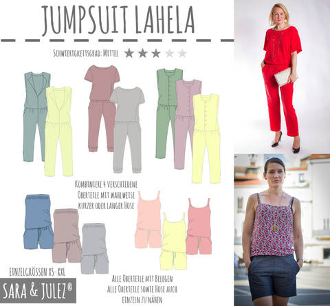 JUMPSUIT LAHELA bei Makerist