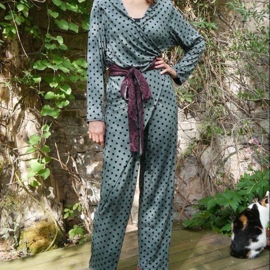 PDF Sewing pattern EBook  Jumpsuit Dana with instructions  at Makerist - Image 1