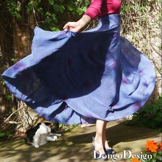 PDFpattern Ebook skirt Charlotte 3 in1 withinstructions  at Makerist - Image 1