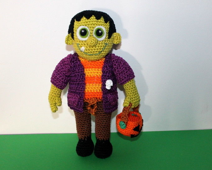 frankenstein junior crochet ebook at Makerist - Image 1
