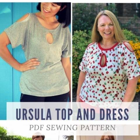 Ursula Top and Dress Pattern