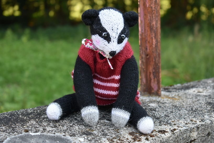 Badger Doll - The woodland collection at Makerist - Image 1