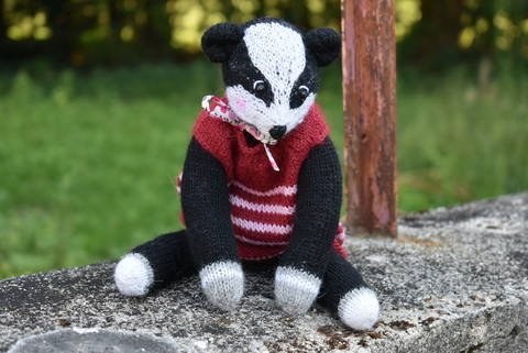 Badger Doll - The woodland collection