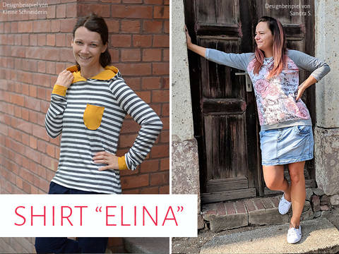 "Shirt ""Elina"" bei Makerist"