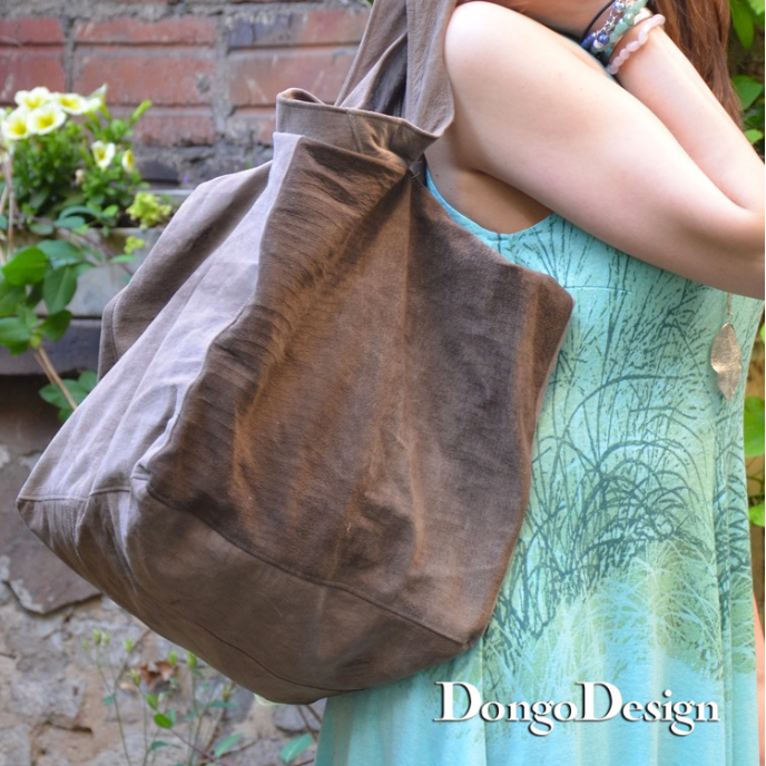 PDF sewing pattern E-Book cube-bag with  Sewing instructions