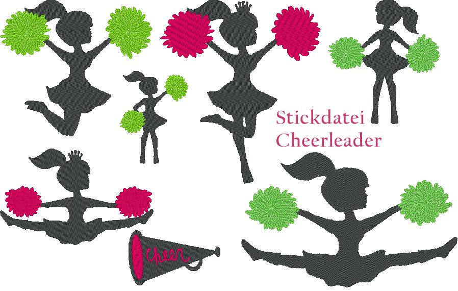 Stickdatei Cheerleader