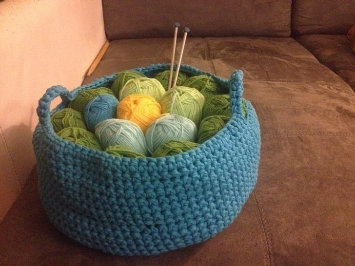 Panier au crochet - tutoriel de crochet chez Makerist - Image 1