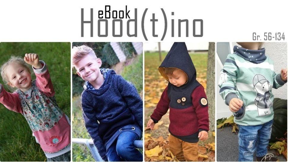 Hoodtino / Hoodie Pullover / Anleitung + Schnittmuster  bei Makerist - Bild 1