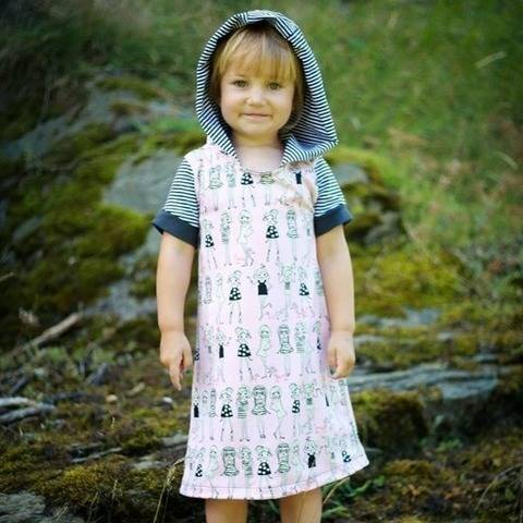 My little Darling Kapuzenkleid für Kids - Print4kids bei Makerist