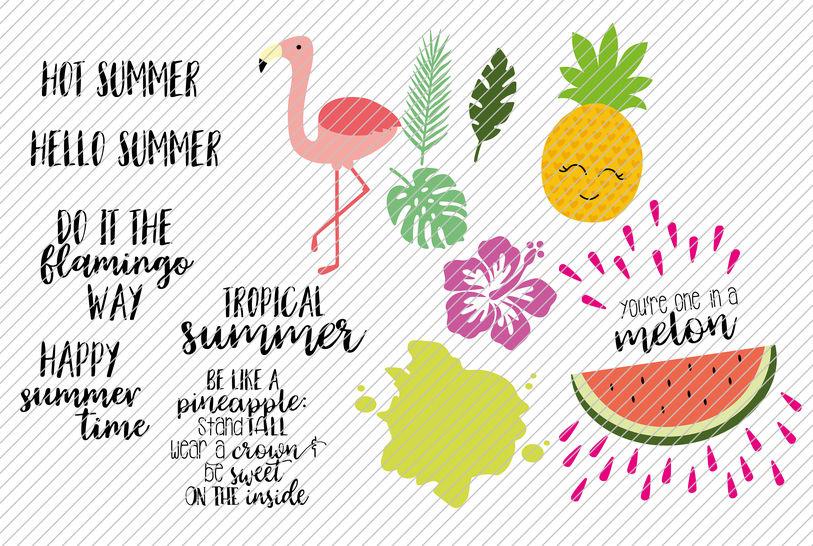Plottdatei Tropical Summer  bei Makerist - Bild 1