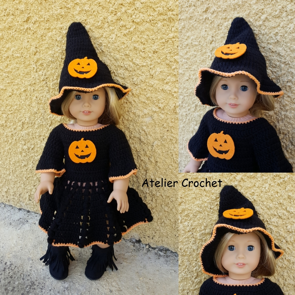 """Miss Halloween"" pour American Girl"