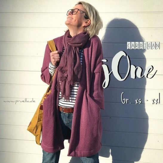Ebook Cardigan jOne XS - XXL bei Makerist - Bild 1