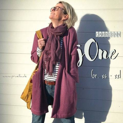 Ebook Cardigan jOne XS - XXL bei Makerist