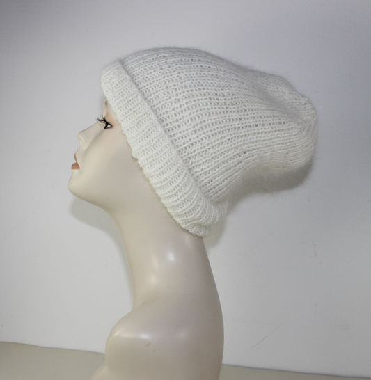 Fluffy Rib Slouch Hat at Makerist - Image 1