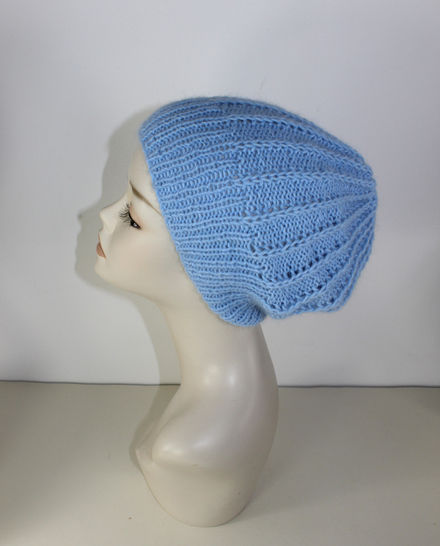 Fluffy Fishermans Rib Slouch Hat at Makerist - Image 1