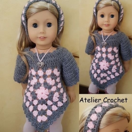 """""""Suzanne"""" crochet pattern for American Girl at Makerist - Image 1"""