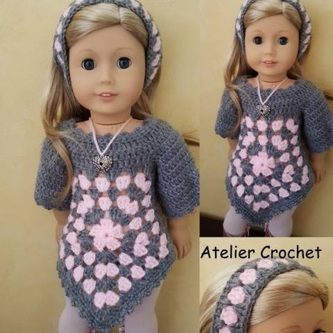"""Suzanne"" crochet pattern for American Girl"