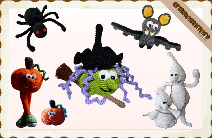 Häkelanleitung (033): Halloween Set bei Makerist - Bild 1