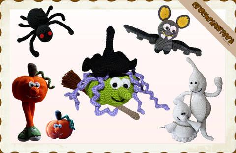 Häkelanleitung (033): Halloween Set bei Makerist