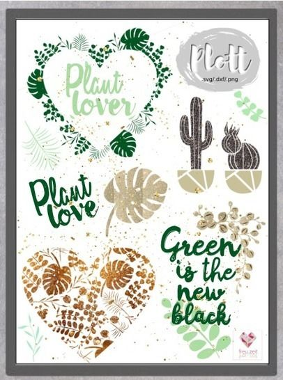 Plottdesign - Botanical Love bei Makerist - Bild 1