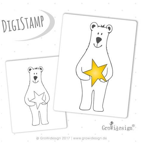 Mister Cool DigiStamp