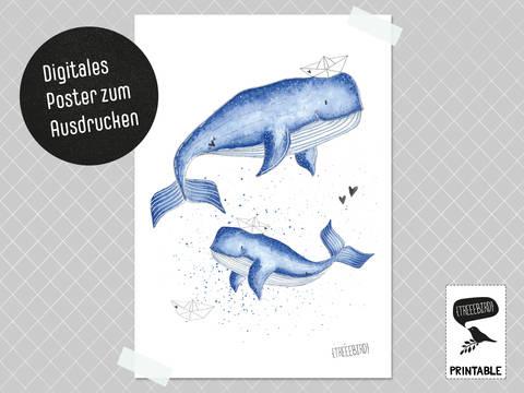 Poster WalLIEBE zum Ausdrucken bei Makerist