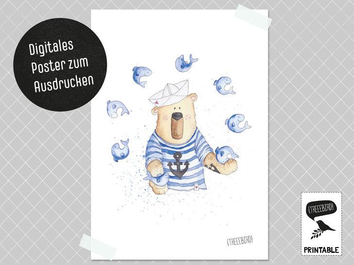 Poster Seebär zum Ausdrucken bei Makerist - Bild 1
