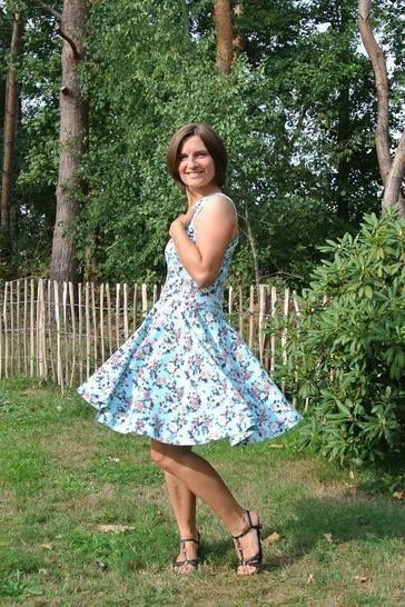 b.e.One Ladyz * Ein-Trägerkleid mit Tellerrock * XS bis XXL bei Makerist - Bild 1