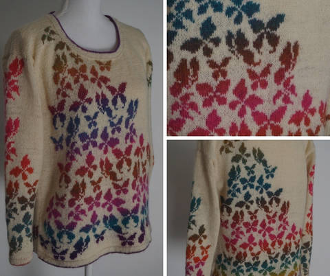 Pull Papillons chez Makerist
