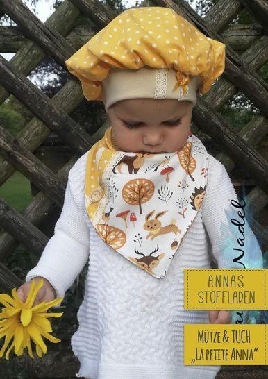 La petite Anna - Ballonmütze und Halstuch bei Makerist - Bild 1
