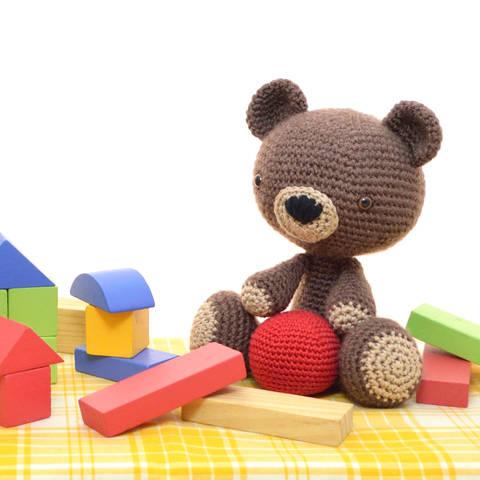 Teddybär - Vintage-Stil - Amigurumi