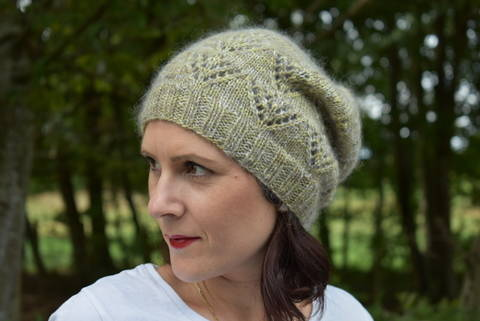 Wind Colour Adult Version Knitting hat pattern