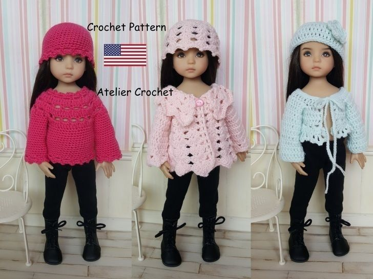 """""""Petites Laines"""" crochet pattern for Little Darling at Makerist - Image 1"""