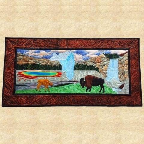 Yellowstone Quilted Wall Hanging Pattern at Makerist