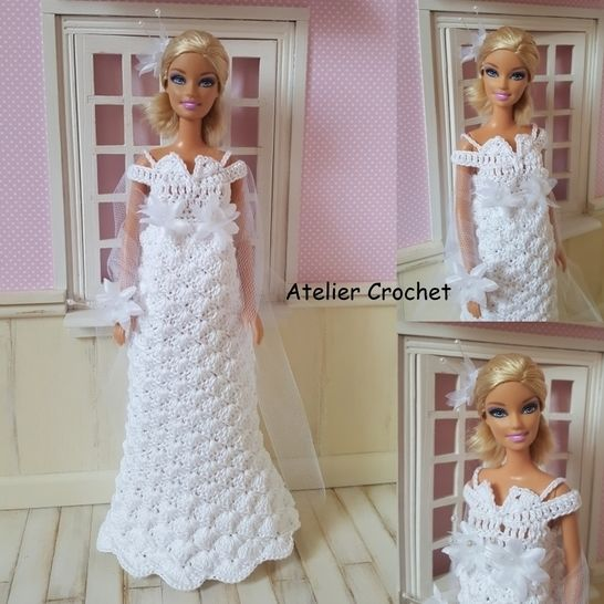 """Antonia"" crochet pattern for Barbie at Makerist - Image 1"