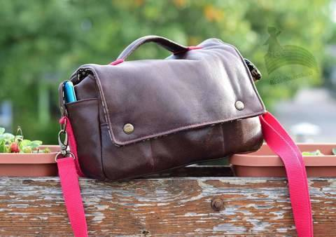 Lykkecamera Kameratasche Handtasche Fototasche Tasche