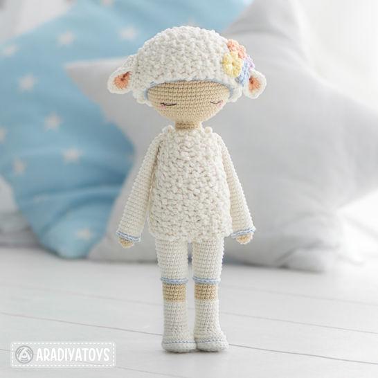 "Friendy Wendy from ""AradiyaToys Friendies"" collection at Makerist - Image 1"