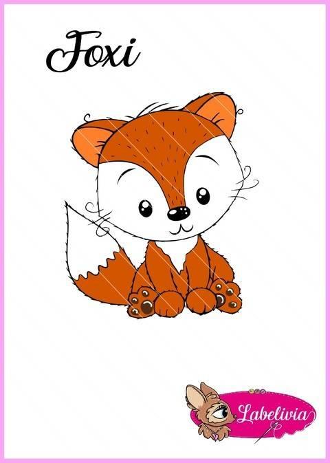 Plotterdatei Foxi bei Makerist