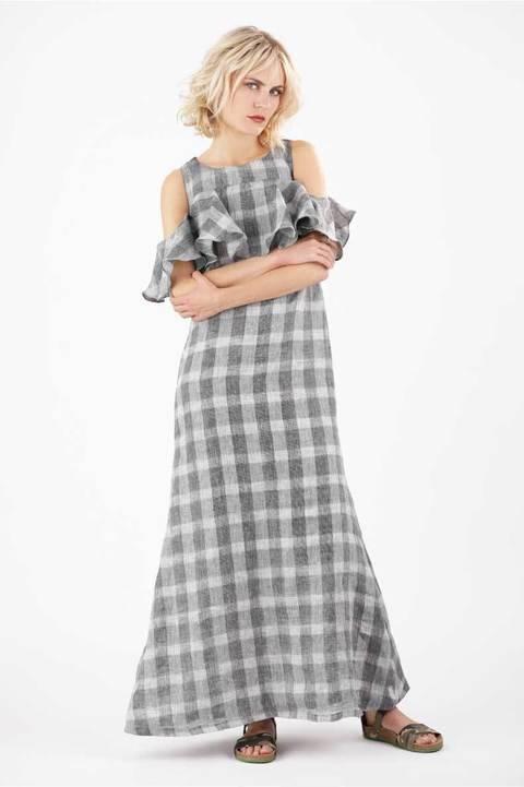 Schnittmuster Top und Kleid Carmen