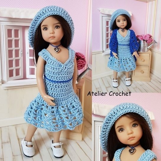 """Béatrice"" crochet pattern for Little Darling at Makerist - Image 1"