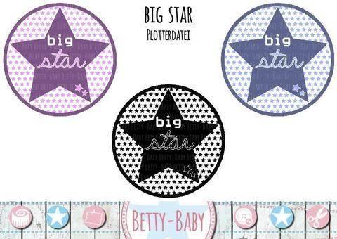 Plotterdatei ★ big Star ★