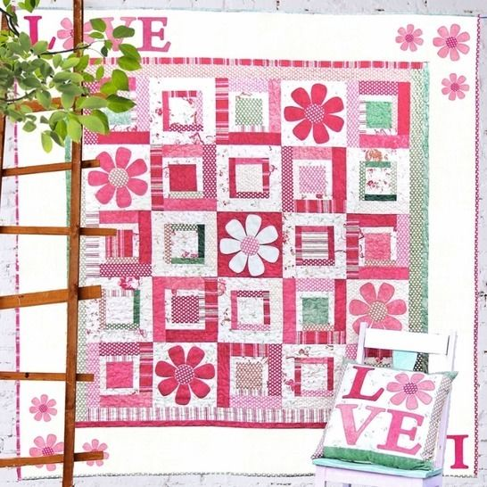 All You Need is Love - Quilt Pattern at Makerist - Image 1