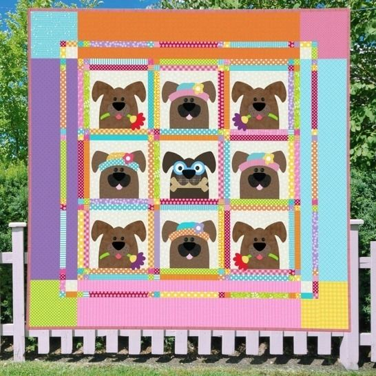 Canine Capers - Quilt Pattern at Makerist - Image 1