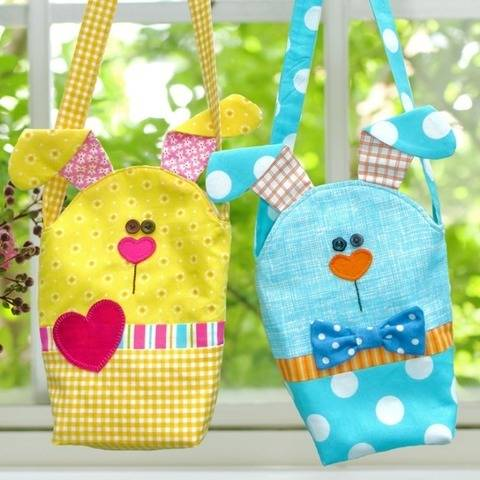 Easy Bunny Bags - Children's Bag Pattern at Makerist