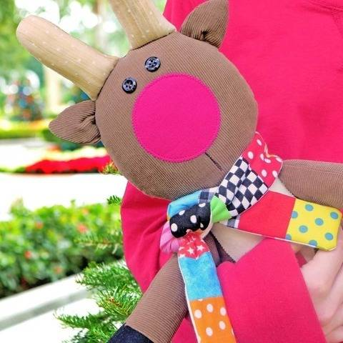 Merry Little Reindeer - Soft Toy Pattern