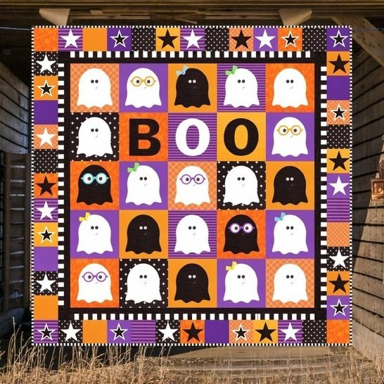 Ghosts & Ghouls - Quilt Pattern at Makerist - Image 1