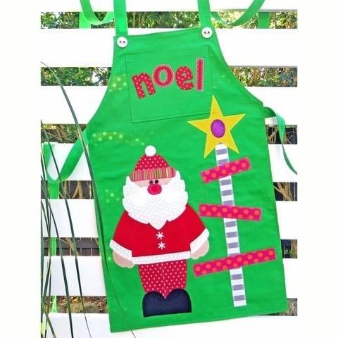 Mr & Mrs Claus - Christmas Apron Pattern