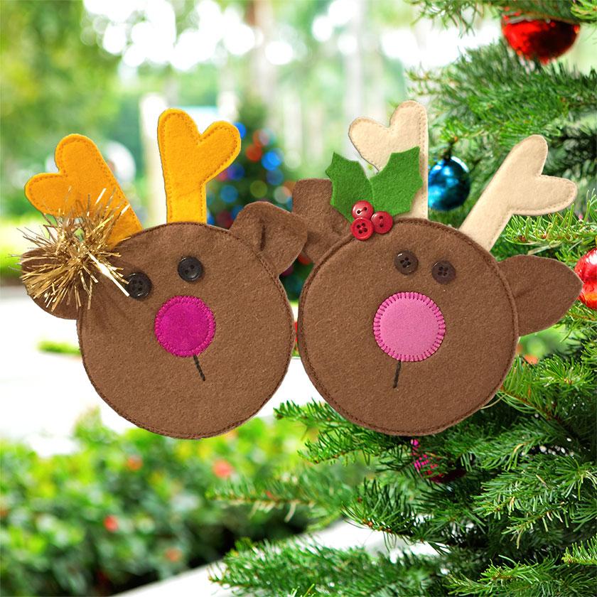 Tiny Little Reindeer - Ornament Pattern