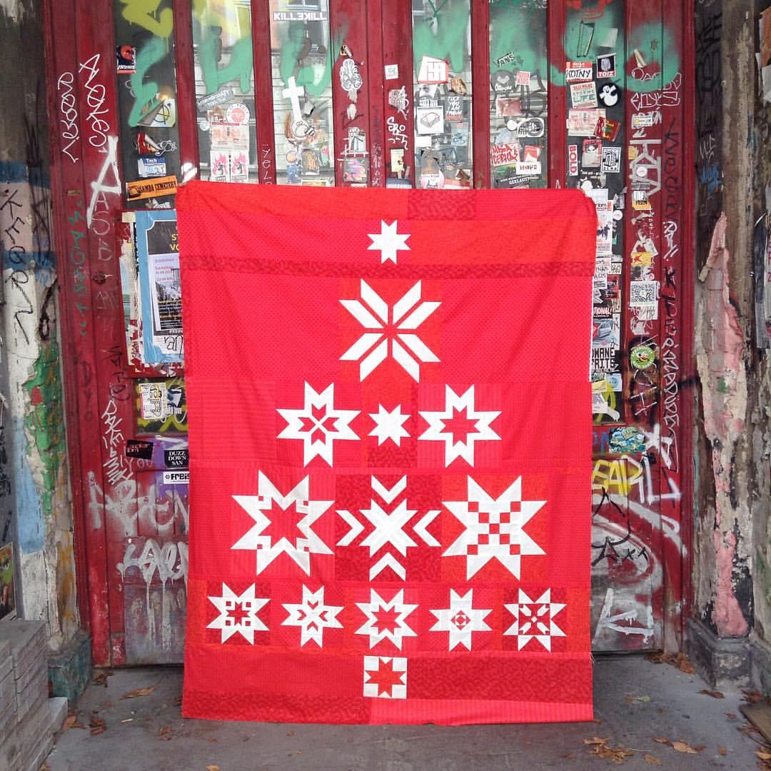 Christmas Tree - 13 Blöcke Quiltanleitung / Patchwork